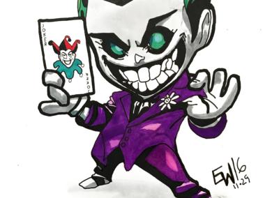 Joker chibi - Markers - Jeremi - ESPACE DESSIN