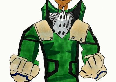 Midoriya Izuku Hero Academia - markers - Phileas - ESPACE DESSIN